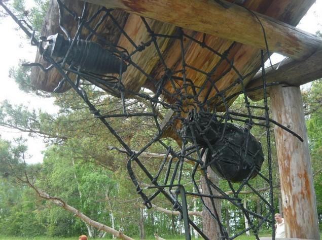 работы кузнецов тальцы пауки