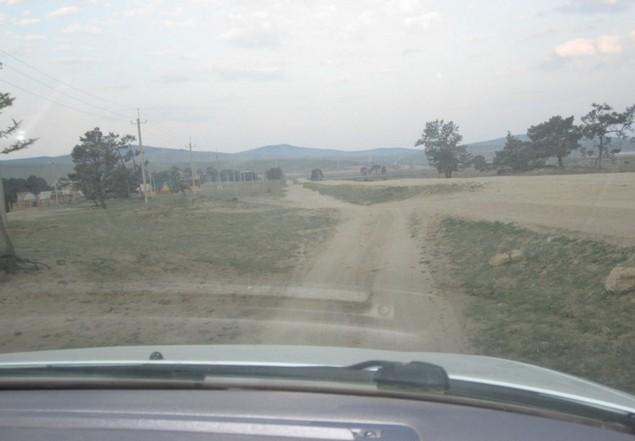 дорога на ольхоне