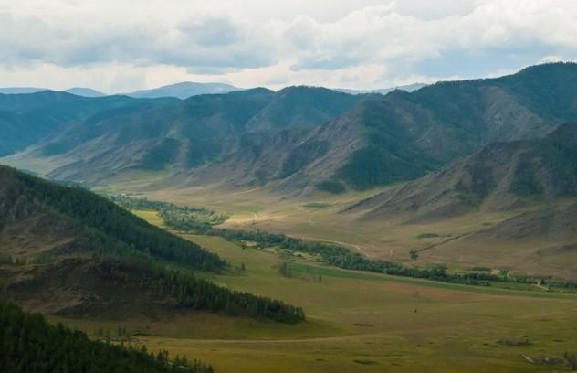 долина реки Малый Ильгумень