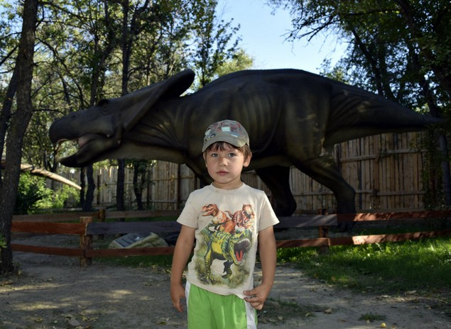 динозавры в волгограде