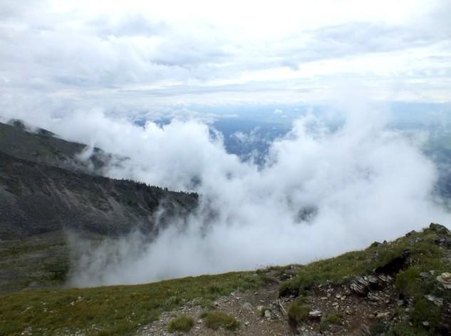 тункинские гольцы туман