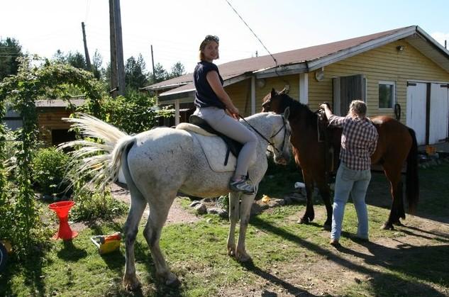 конная прогулка в карелии