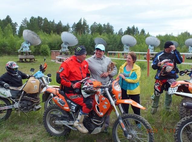 мотоциклисты из монголии