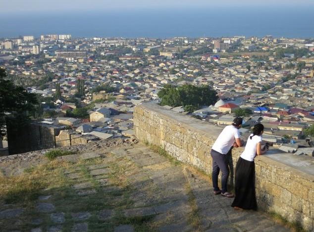 поездка в крепость Нарын-Кала