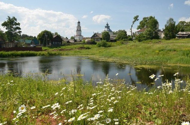 автопутешествие на север Ильинская колокольня