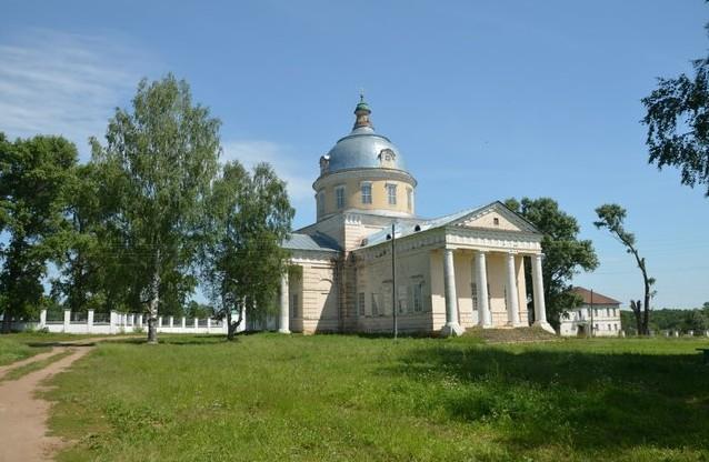 Никольская церковь с великорецкое