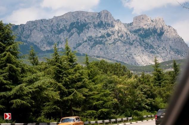 Дорога от Карцивели до с. Солнечногорское