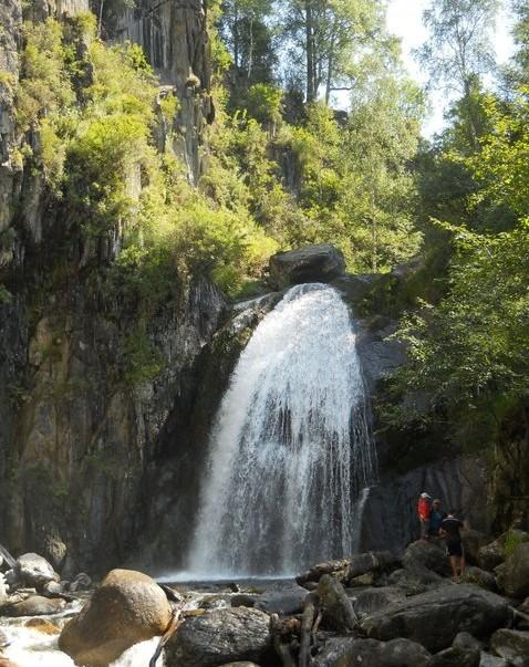 путешествие на  водопад  Корбу