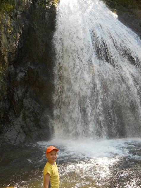 поездка на  водопад  Корбу алтай