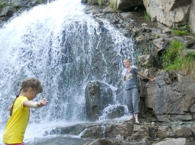 первое путешествие на алтай Камышлинский водопад