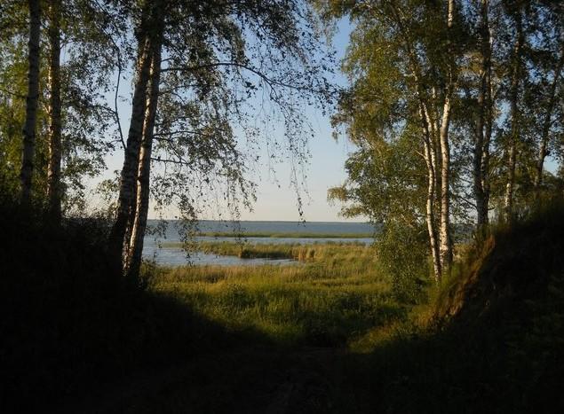 Озеро Ик берег