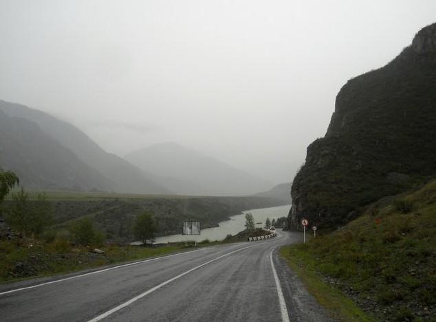 горная дорога Чуйский тракт