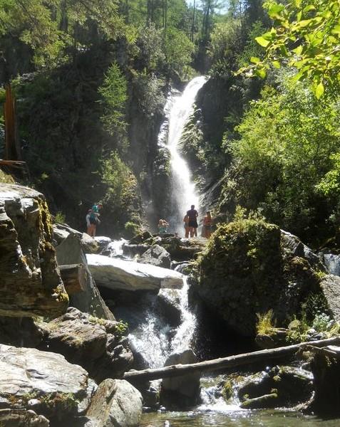 Водопад Улары