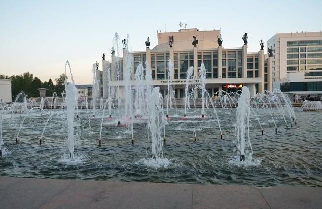 фонтаны в ижевске