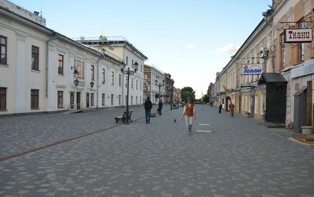 Пешеходная улица, Спасская.