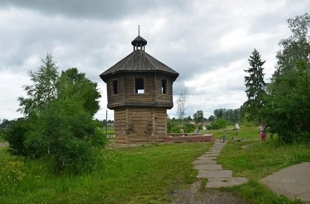 поездка на север россии башня