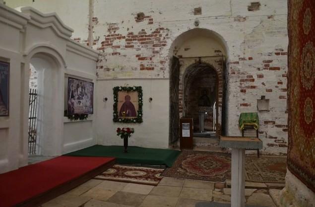 поездка на север храм внутри