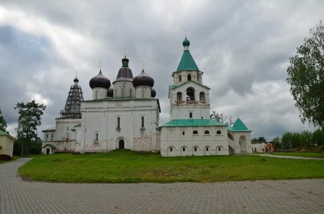 путешествие в  Антониево-Сийский монастырь