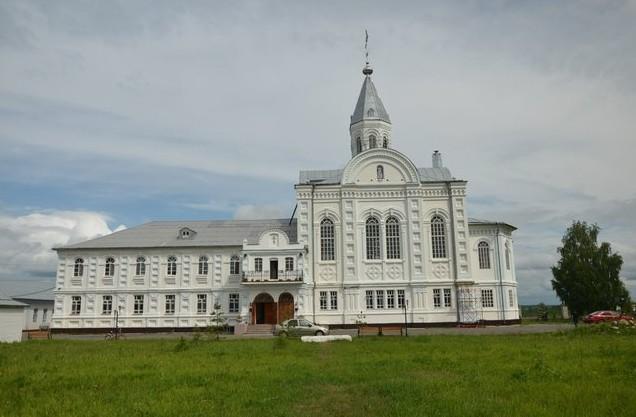 Церковь Лонгина Коряжемского
