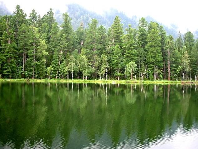 озеро теплое байкал