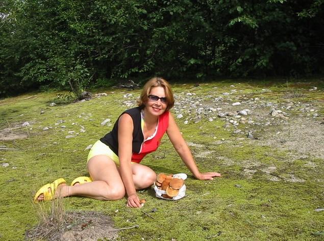 поездка на теплые озера за грибами