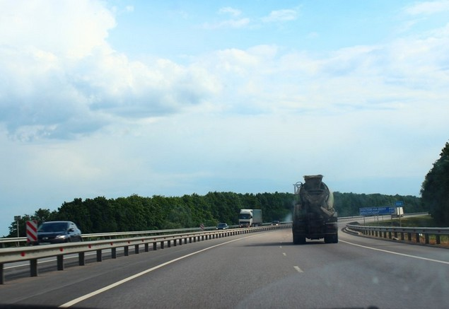 дорога м-4 возле богучара