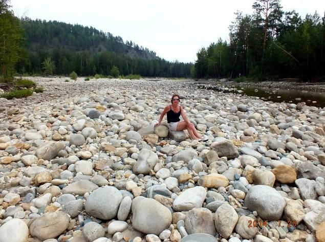 сухое русло реки умхей