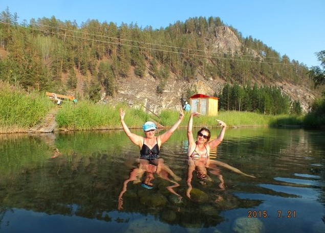 теплая вода в озере умхей