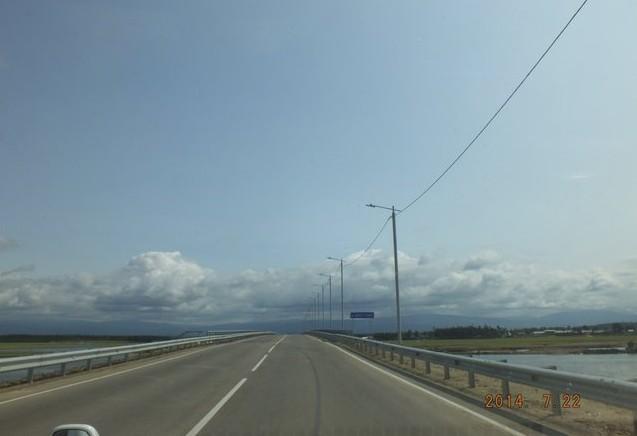 дорога в баргузинской долине