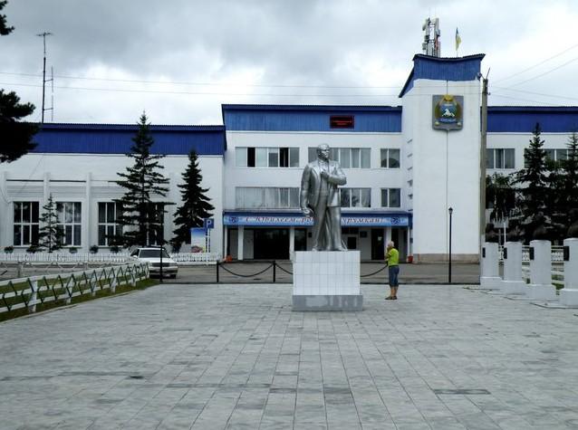курумкан памятник ленину