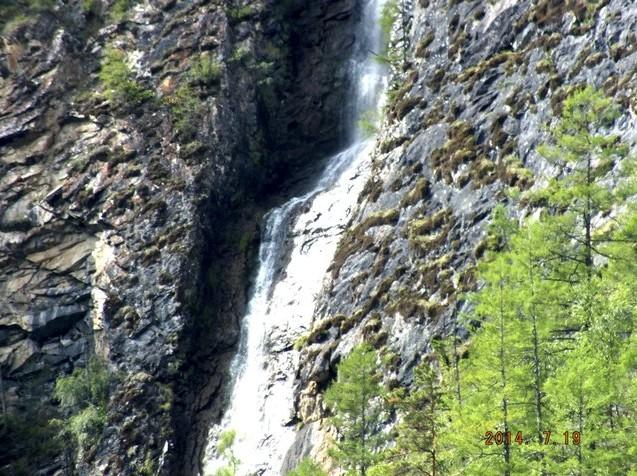 водопад курорт алла