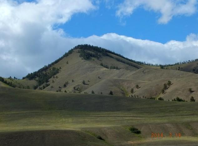 лысые горы в баргузине