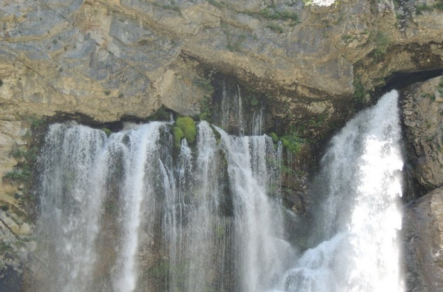 абхазия гегский водопад