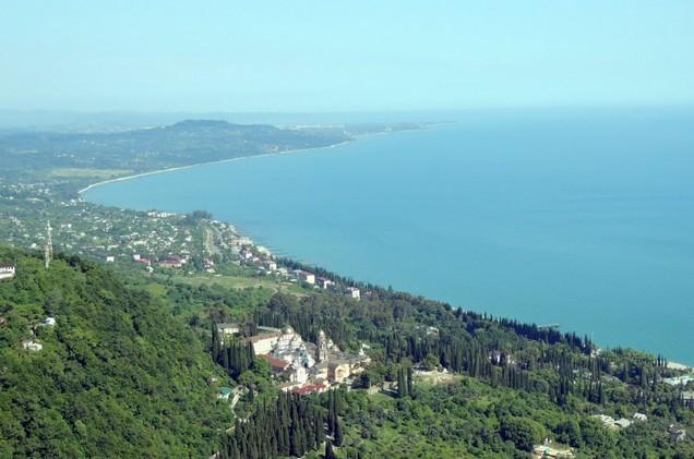 море в абхазии