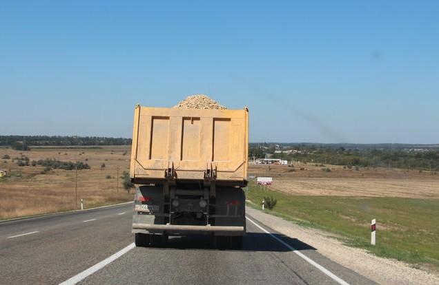 грузовик на м-4