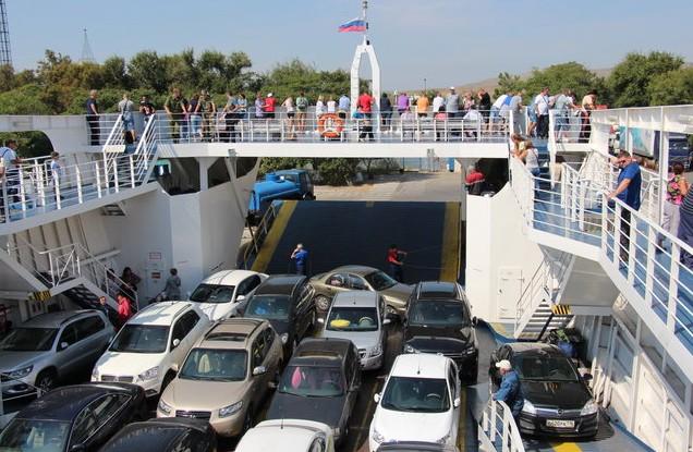 отчет о поездке в крым паром Протопорос IV