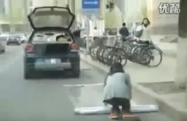 парковка по китайски