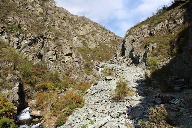 путешествие на водопад Бельтертуюк тропинка вверх