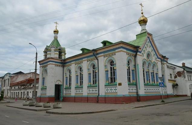 Церковь Николая Угодника архангельск