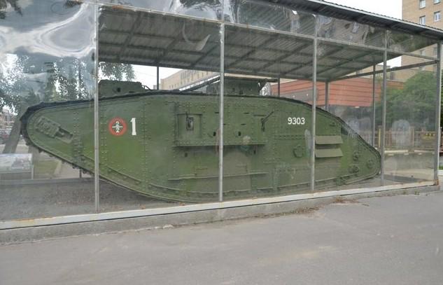 Тяжёлый английский танк