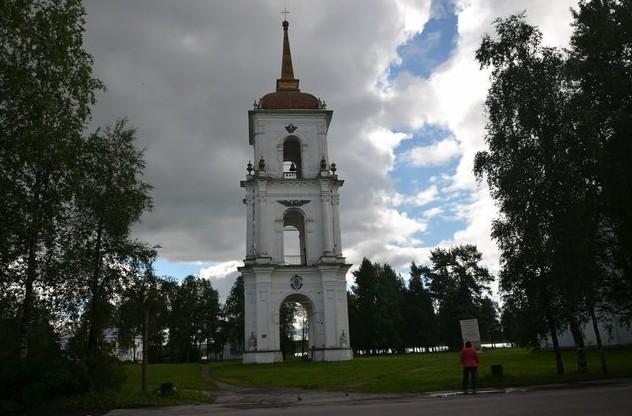 Соборная колокольня каргополь