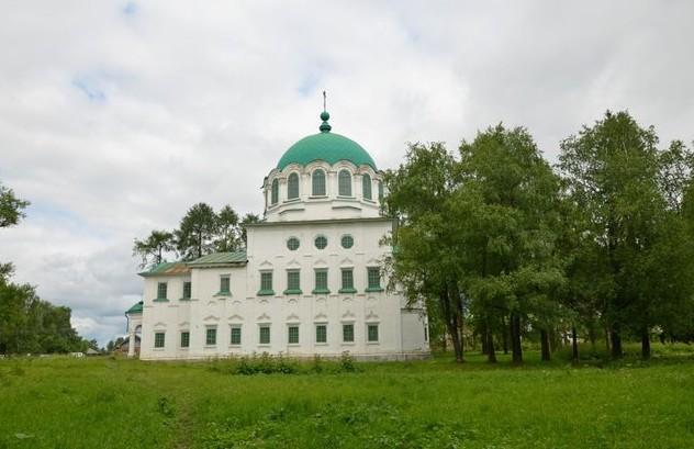 Троицкая церковь каргополь