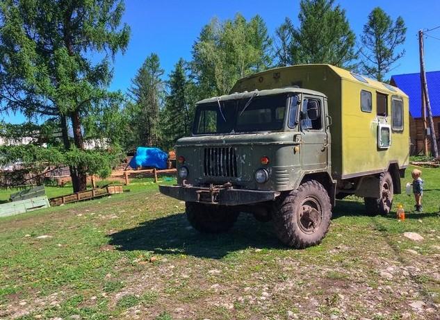 ГАЗ-66 алтай