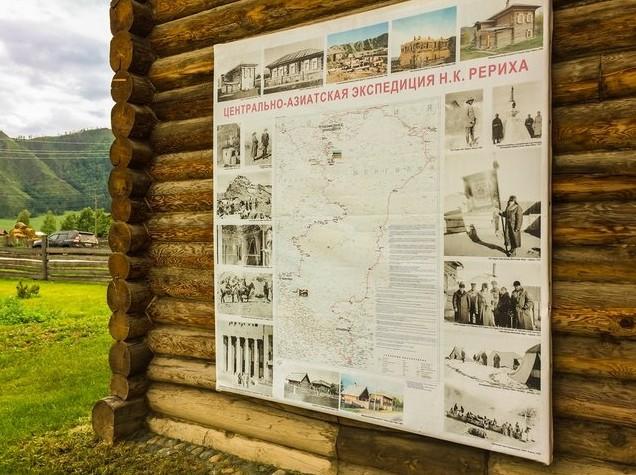 схема музей Николая Рериха, Алтай