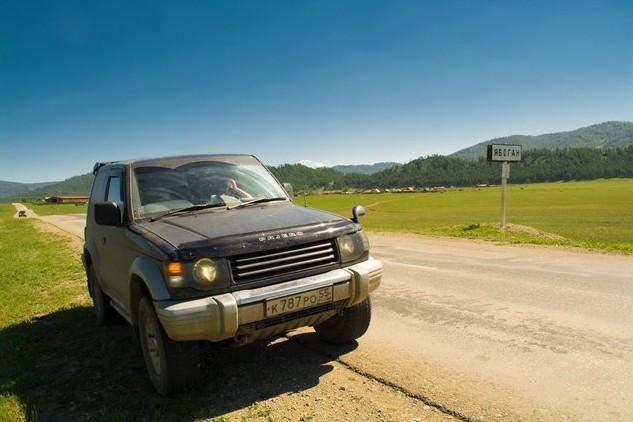 путешествие по алтаю на паджеро