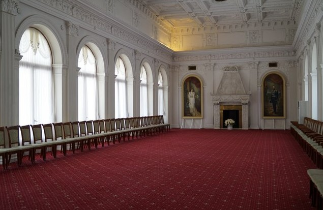 интерьер ливадийского дворца
