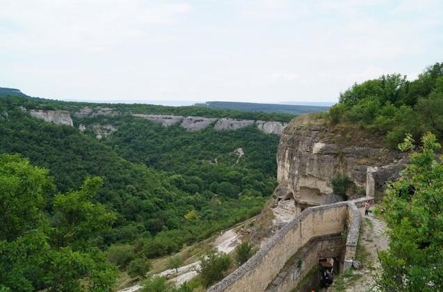Чуфут-Кале пещерный город