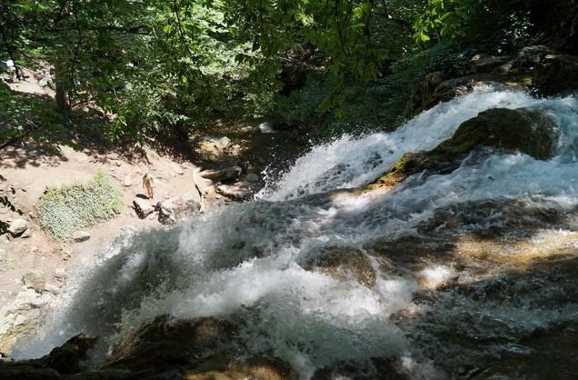 водопад Джур-Джур вид сверху