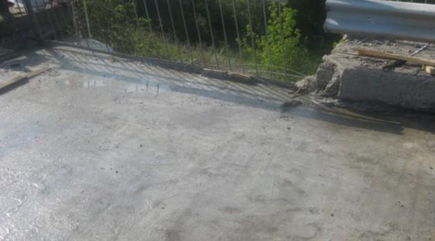 ремонт моста через суру