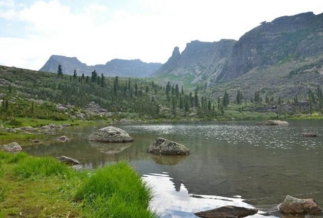 ергаки озеро радужное